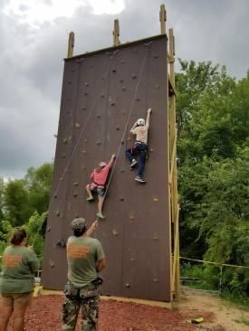 climbing wall 14