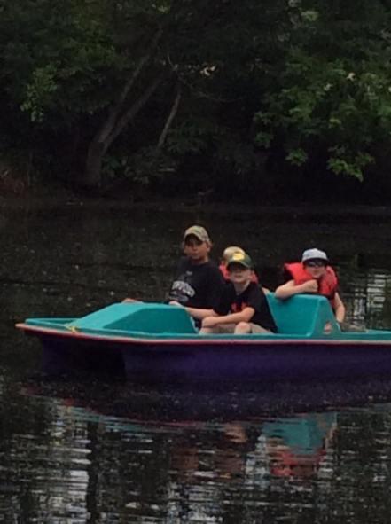 Paddle boat 8